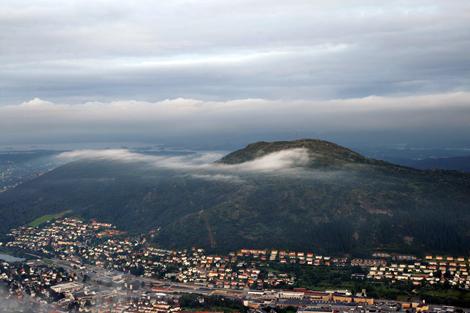Loefstaken Nebelschwaden