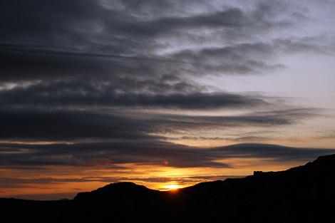 Sunrise Ulriken
