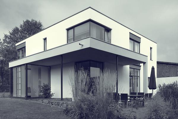 Einfamilienhaus bldrm for Einfamilienhaus architektur modern