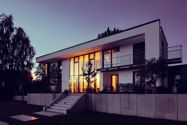 einfamilienhaus modern beste bildideen zu hause design. Black Bedroom Furniture Sets. Home Design Ideas