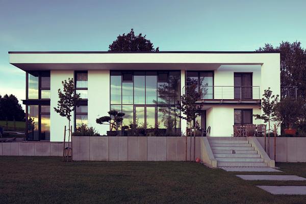 Wohnhaus bildraum for Moderne architektur wohnhaus