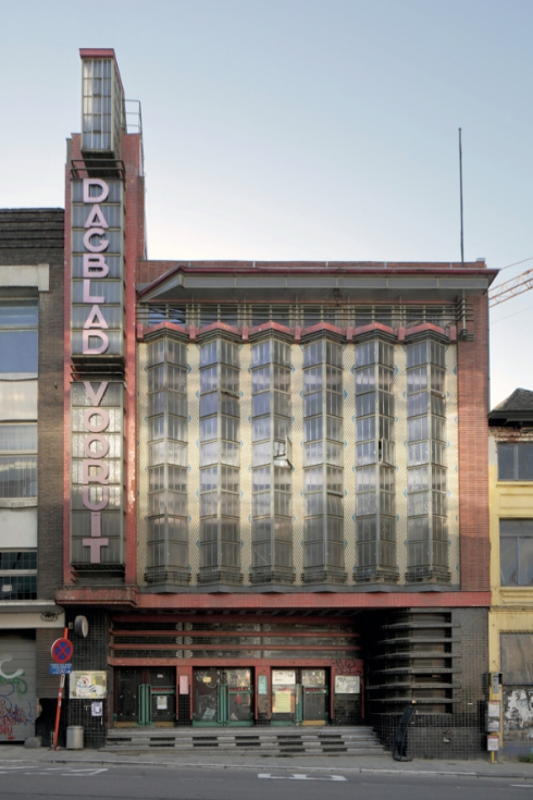 Art Deco Moderne Architektur Belgien