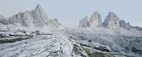 Dolomiten Dolomit Kalkstein Alpen Gebirge