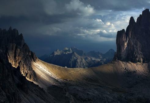 Dolomiten Drei Zinnen Tre cime Wandern