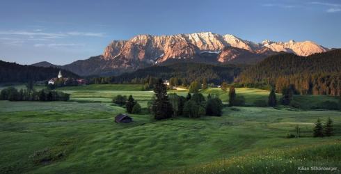 Alpen Elmau Schloss hotel bayern Wetterstein