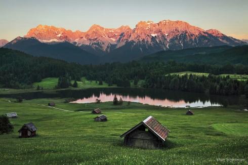 Alpen Foto Natur Geroldsee Wagenbruchsee