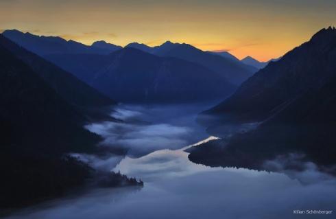 Alpen schönster See Bergsee